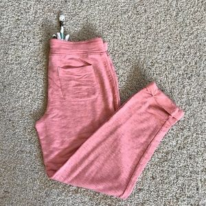 NWT, Anthropologie, Coral Crop Lounger Pants!